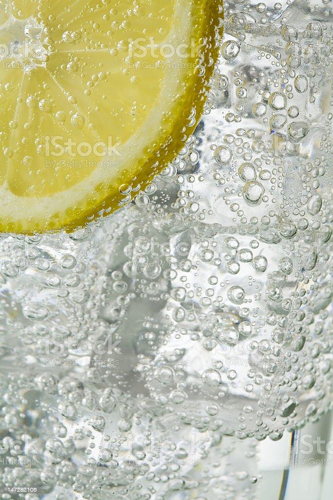 Ice and lemon royalty-free stock photo