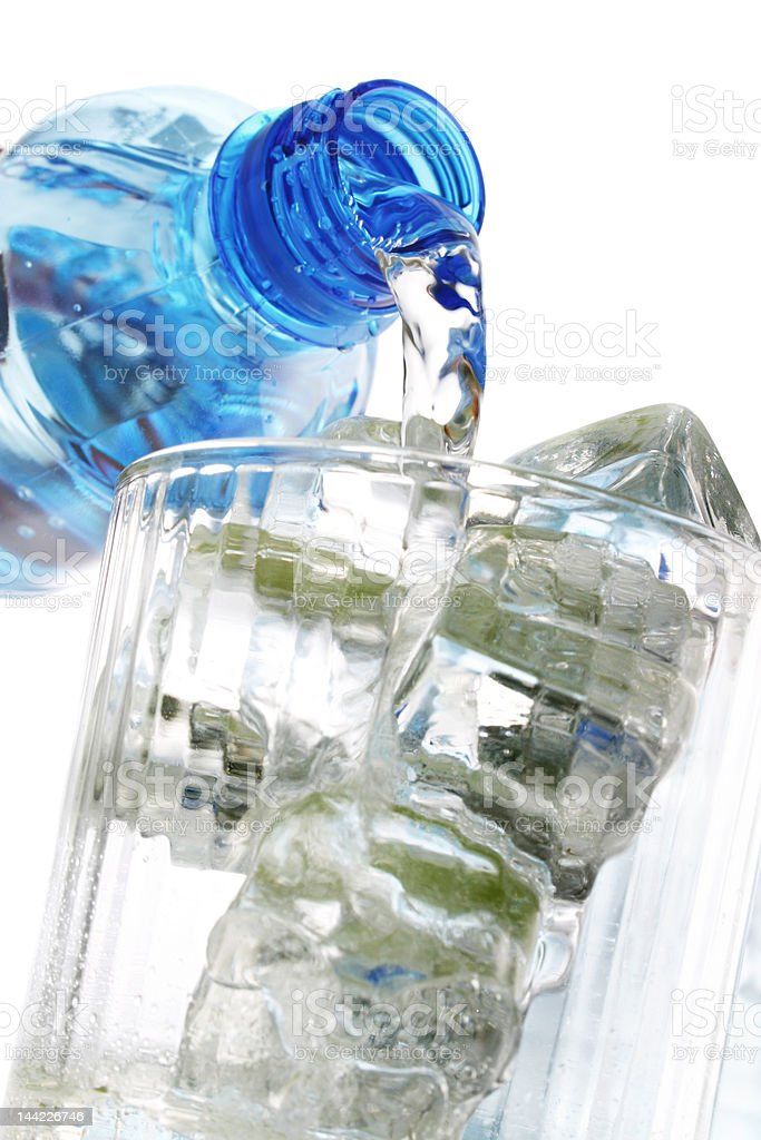 Ice and water royalty-free stock photo