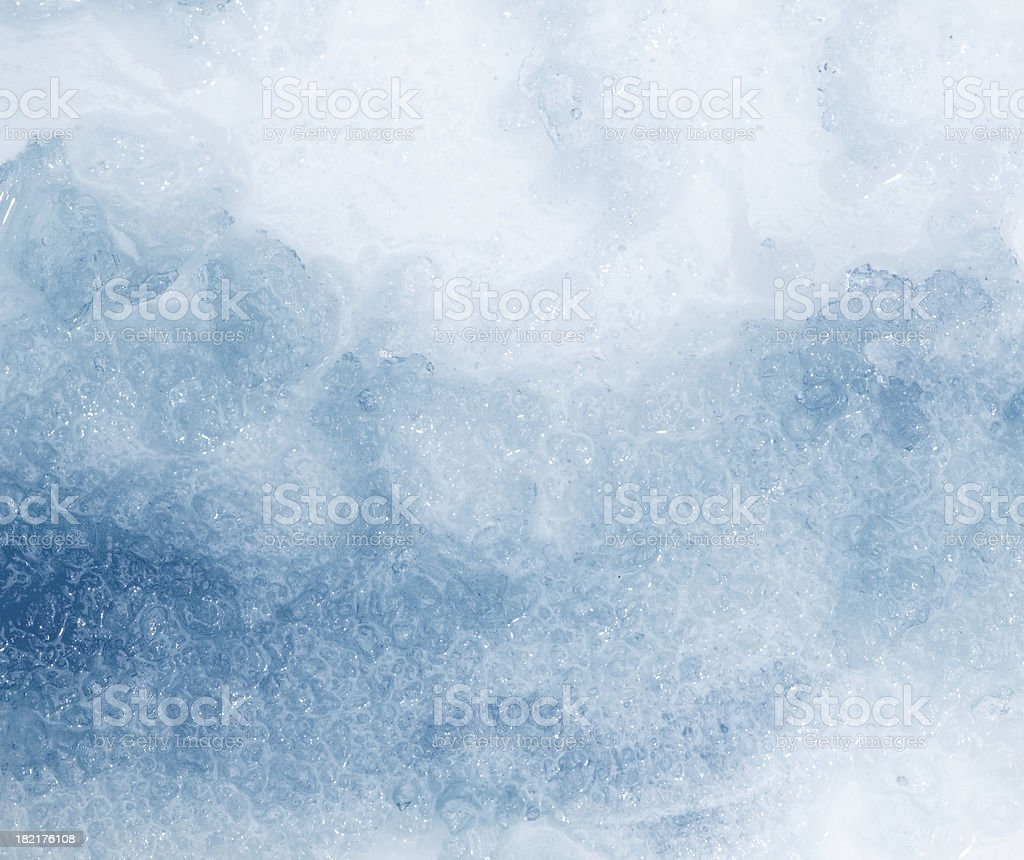 Ice Background stock photo