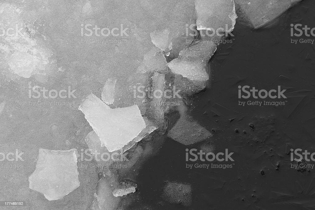Ice backround royalty-free stock photo