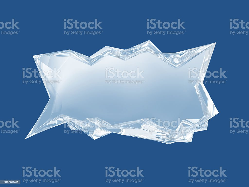 Ice bar. stock photo