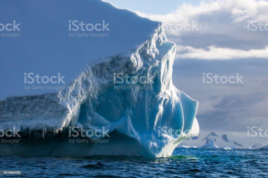 Ice berg Antarctic Peninsula stock photo