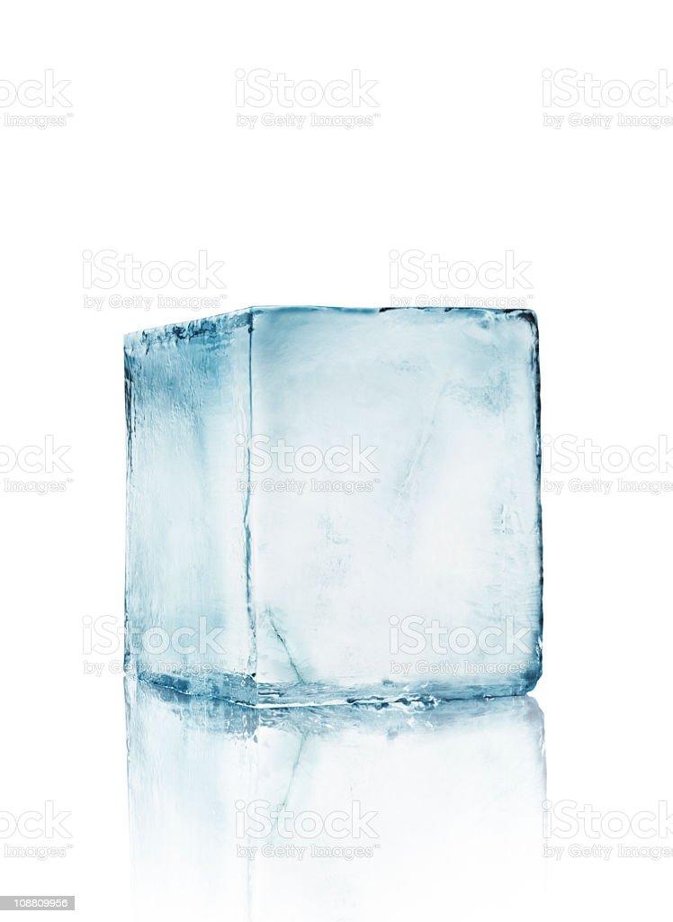 Ice block Big royalty-free stock photo
