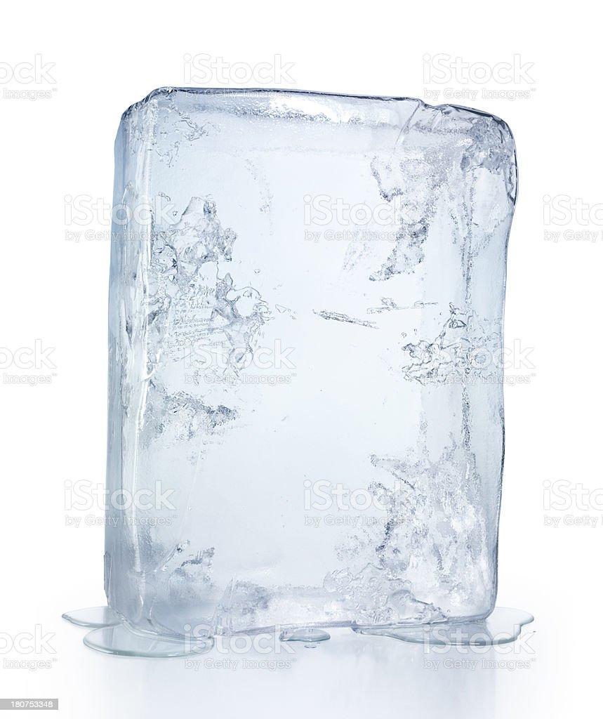 Ice Block stock photo