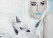 ice blue beauty