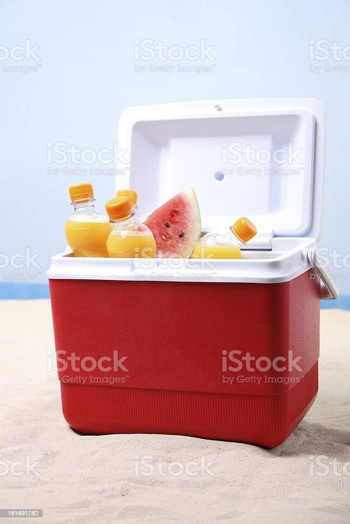 Ice Box stock photo