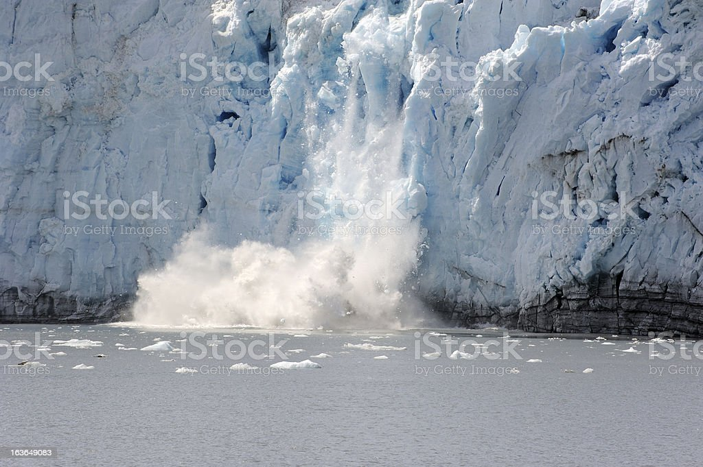 Ice Calving stock photo