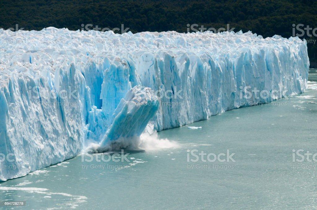 Ice Calving stock photo