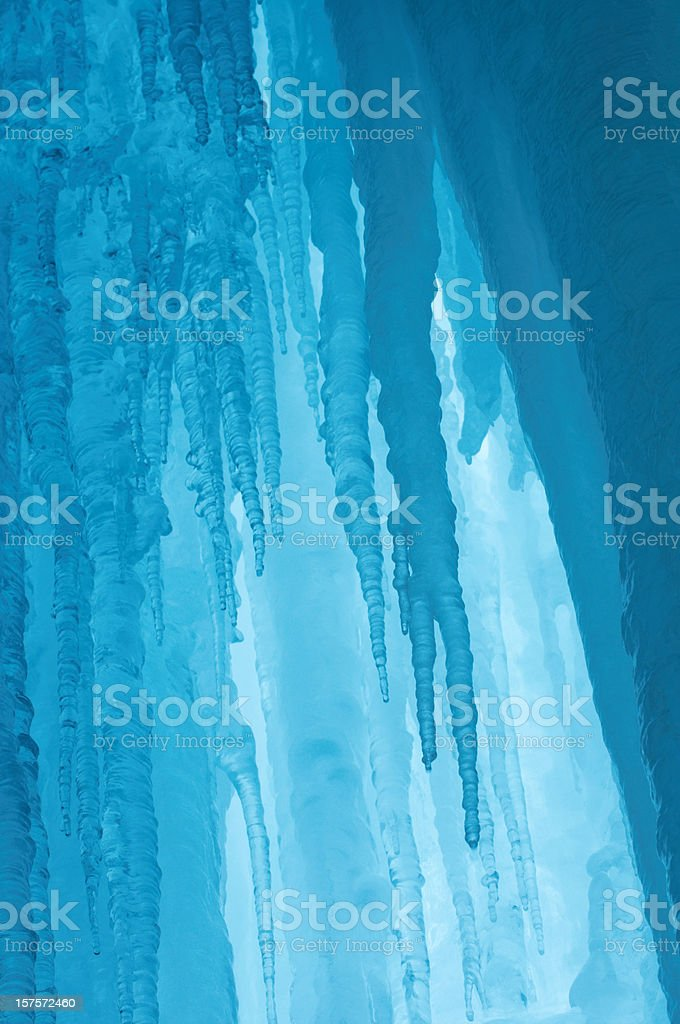 ice cave royalty-free stock photo