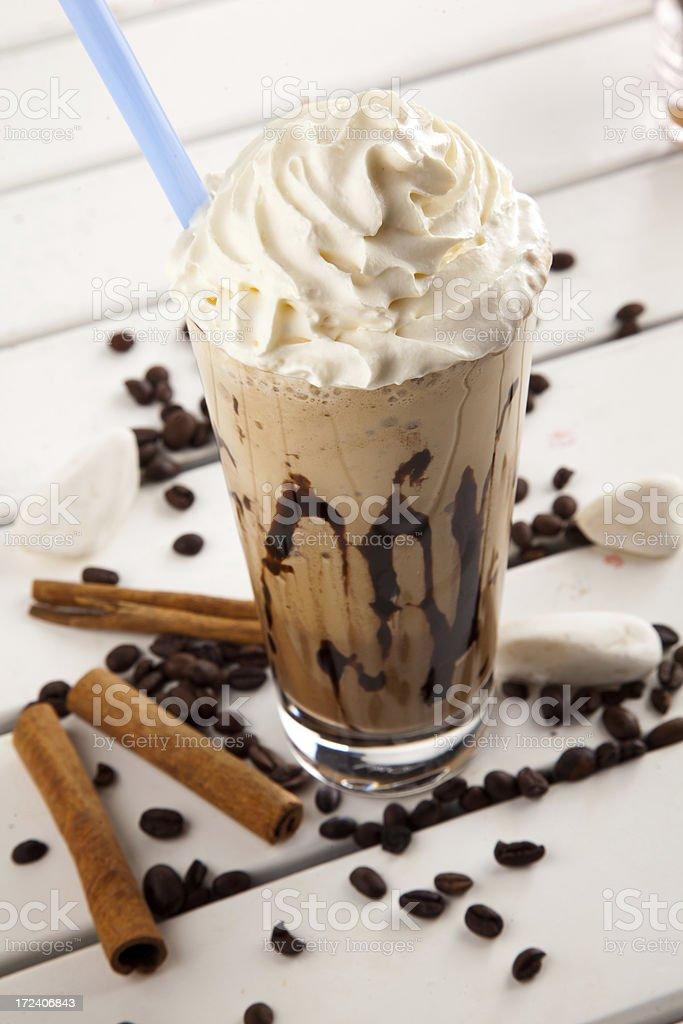 ice chocolate stock photo