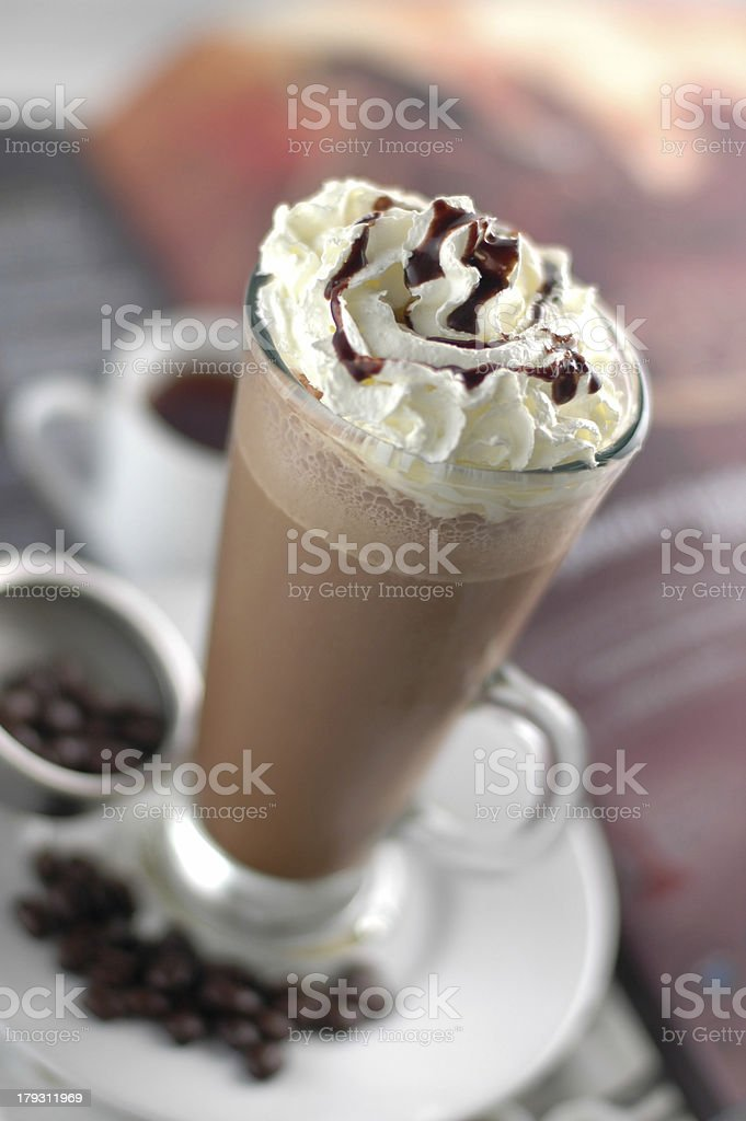 ice chocolate royalty-free stock photo