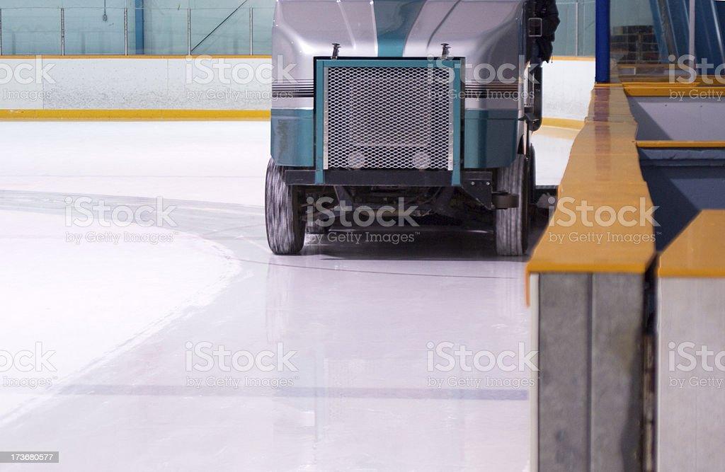 Ice Cleaning Machine stock photo