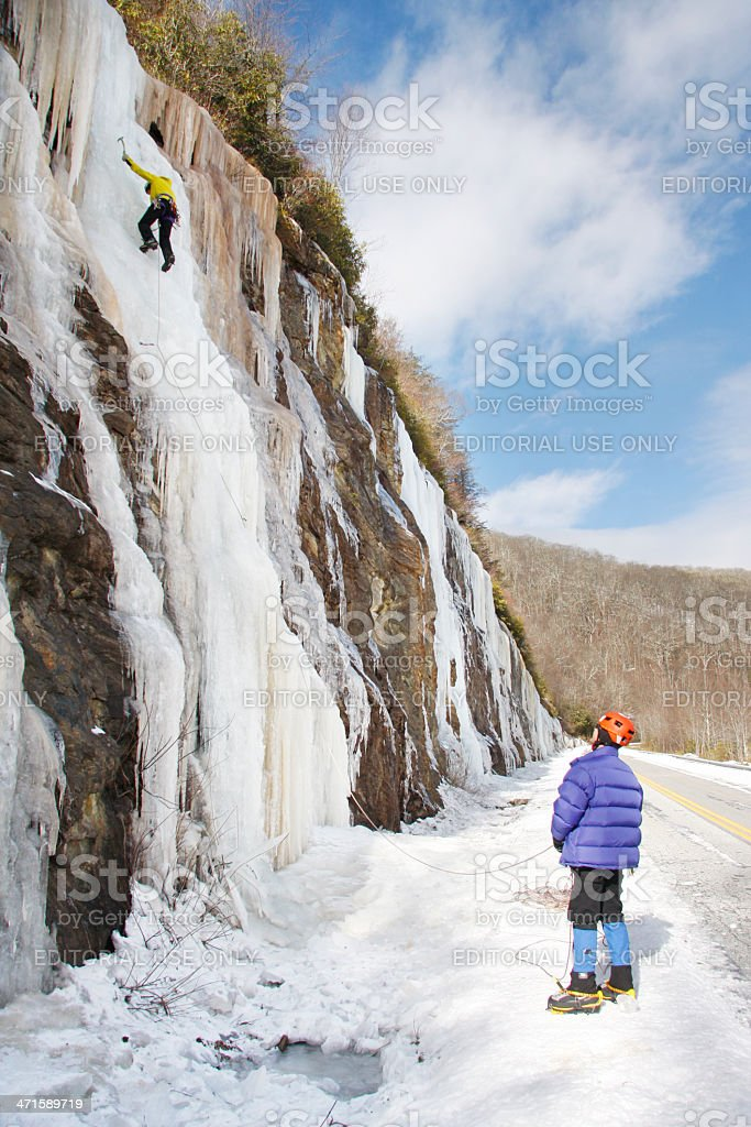 Ice Climbers royalty-free stock photo