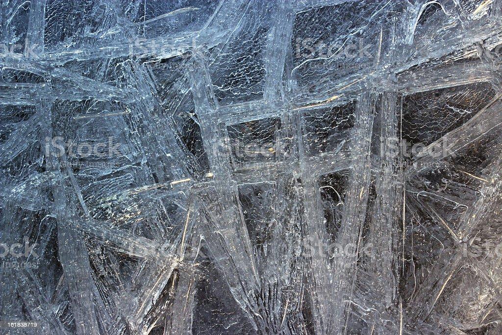 Ice closeup royalty-free stock photo