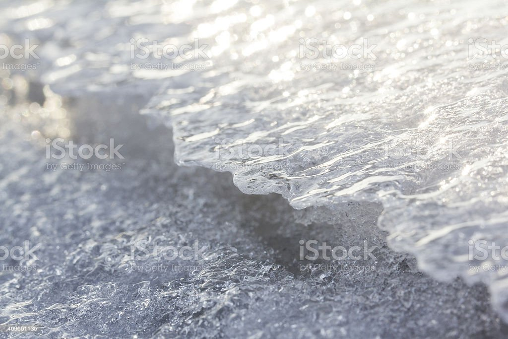 ice close-up texture royalty-free stock photo