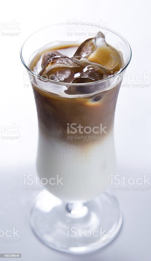 Ice Coffee cup royalty-free stock photo