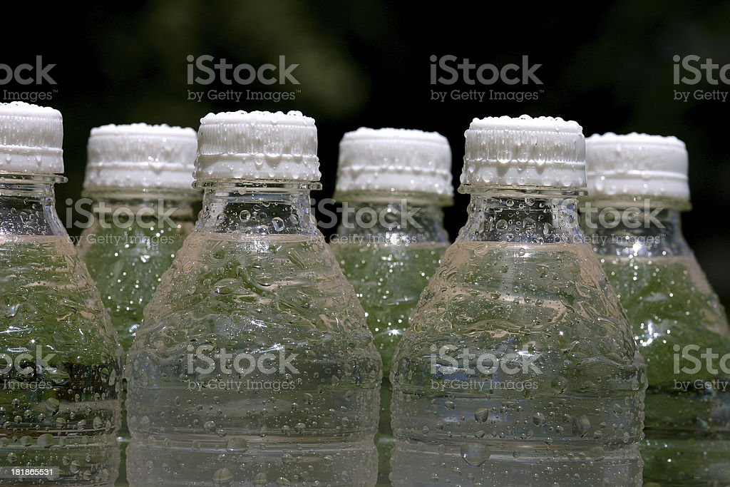 Ice Cold Bottled Water royalty-free stock photo
