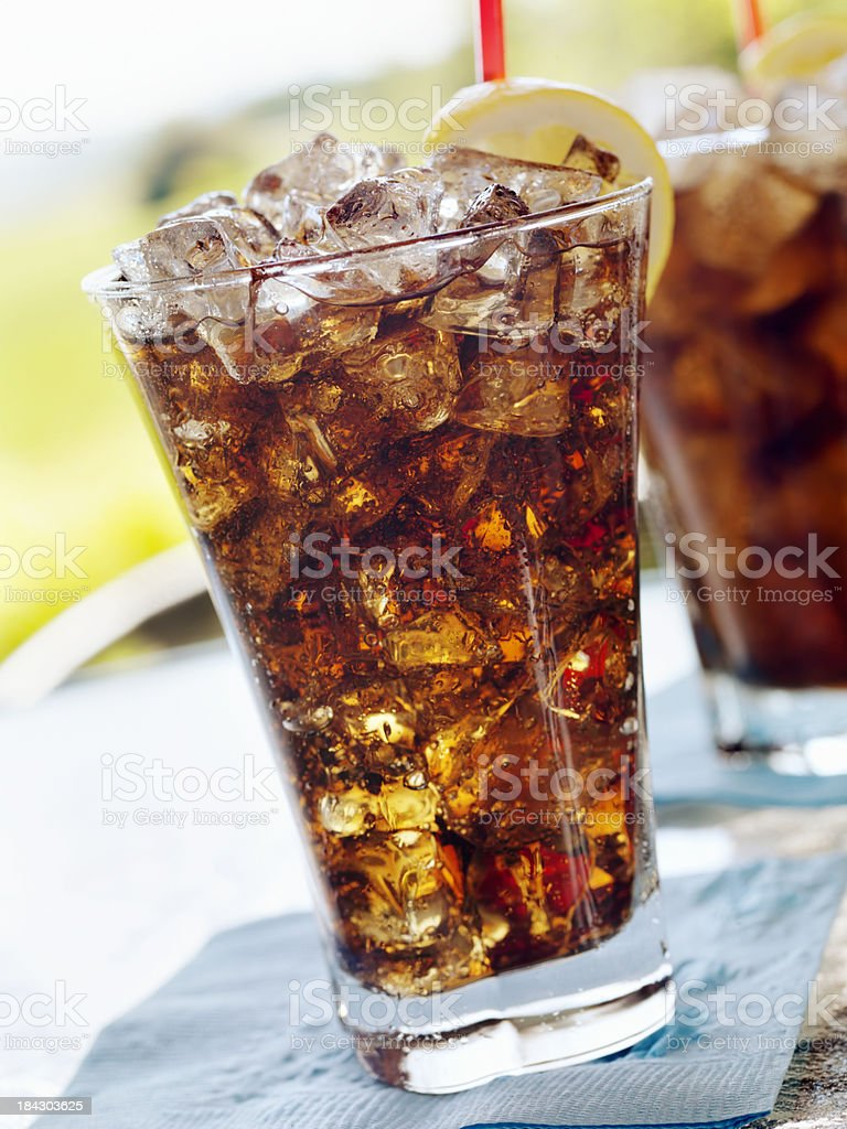 Ice Cold Cola royalty-free stock photo