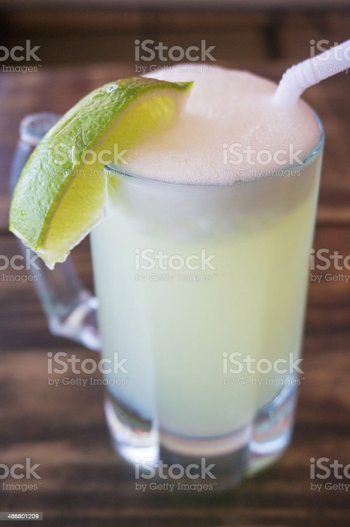 Ice Cold Limeade stock photo