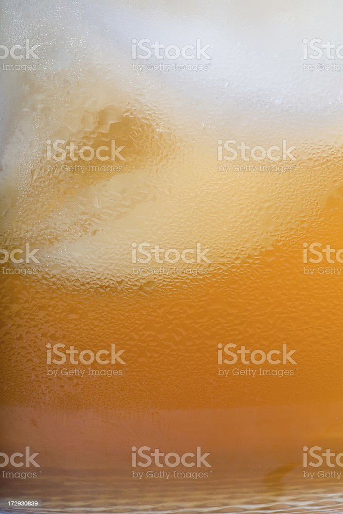 Ice Cold Refreshing Drink royalty-free stock photo