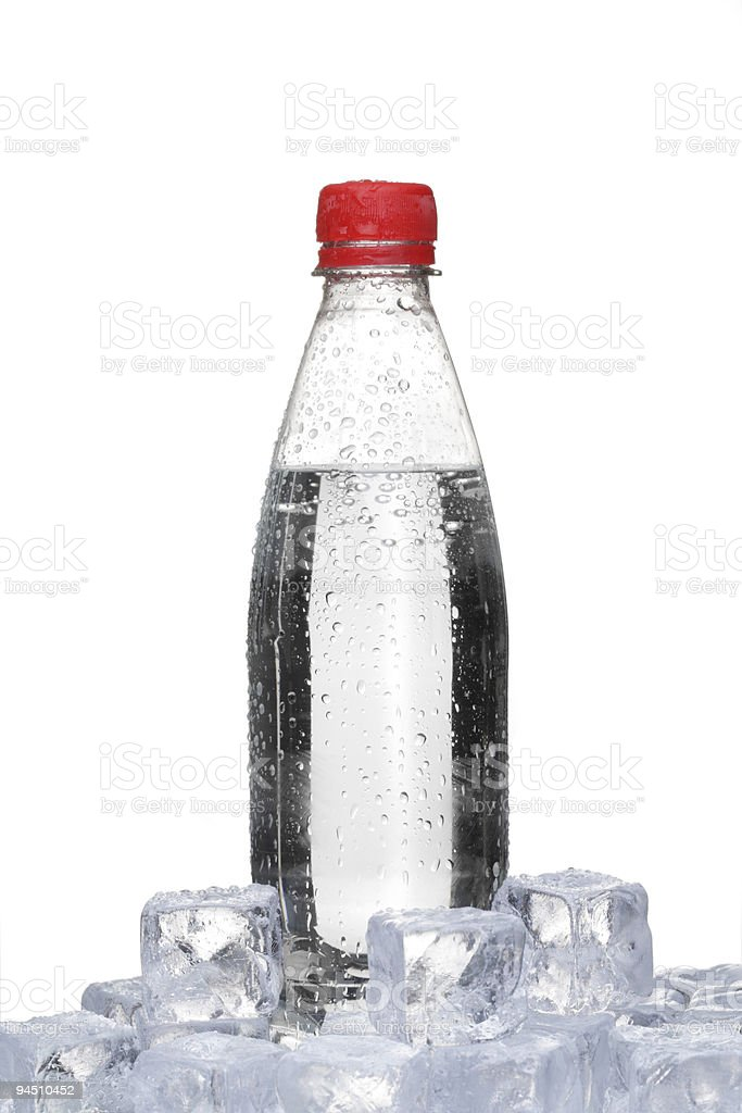 ice cold watter stock photo