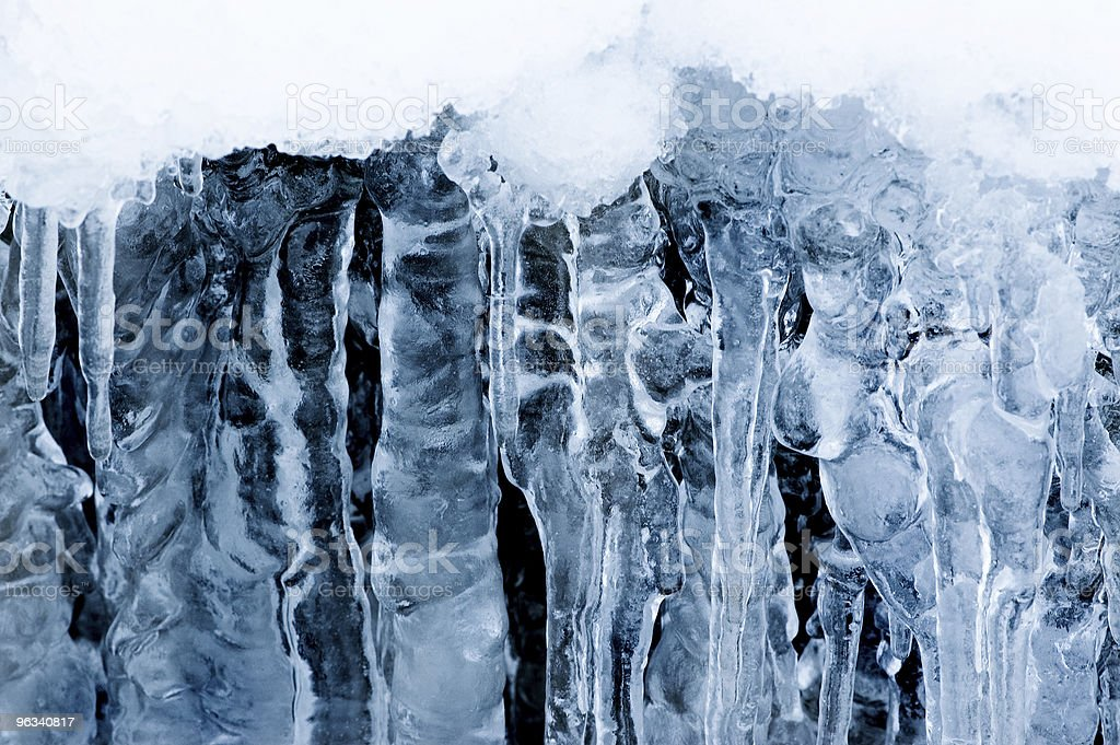 Ice Columns royalty-free stock photo