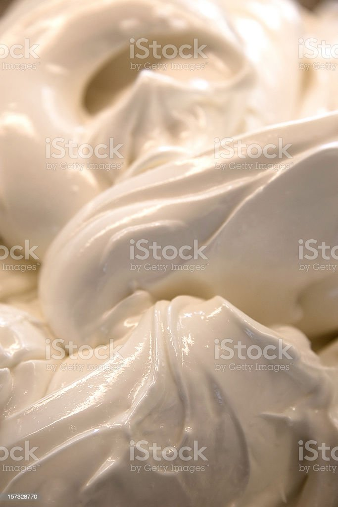 Ice Cream Base royalty-free stock photo