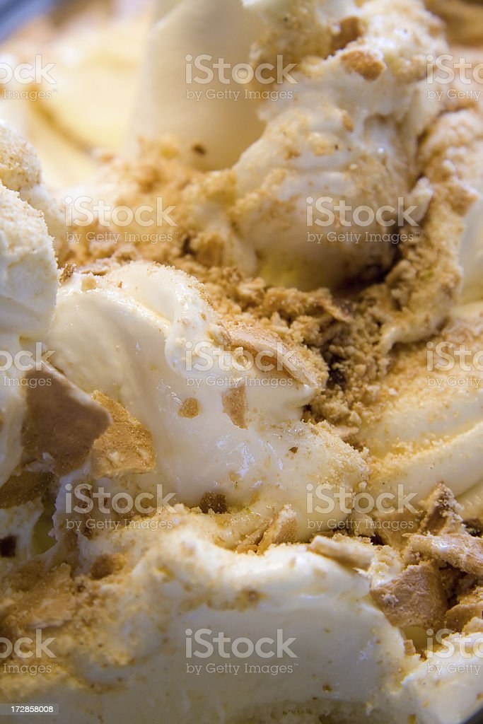 Ice Cream & Biscuits stock photo
