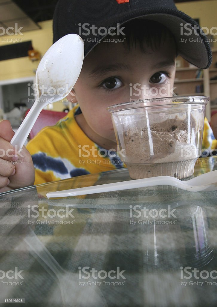 Ice Cream Boy royalty-free stock photo