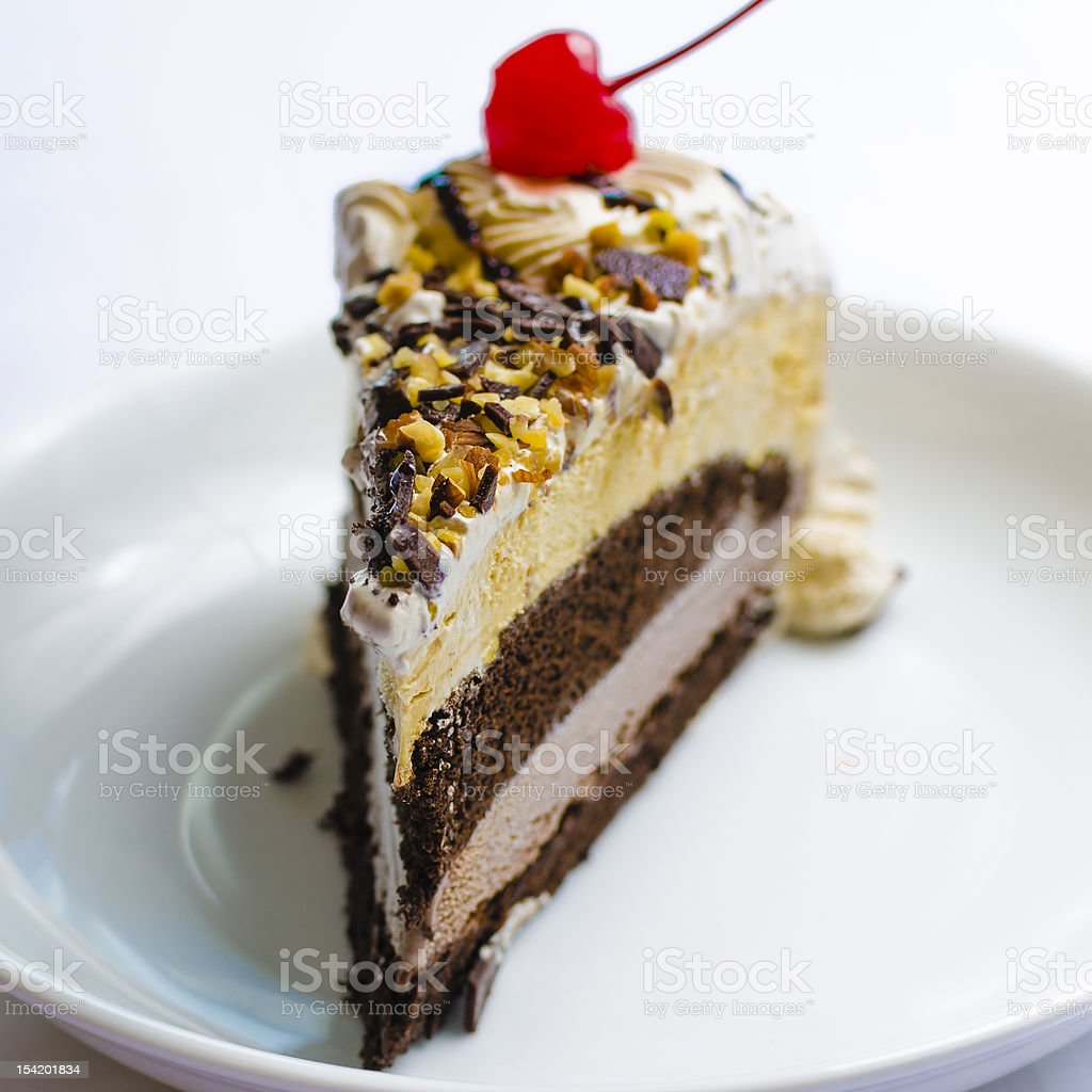 Ice Cream Cake royalty-free stock photo