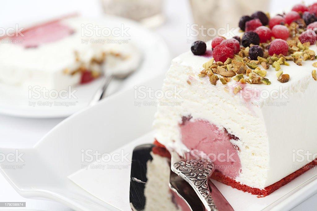 Torta de Sorvete foto royalty-free