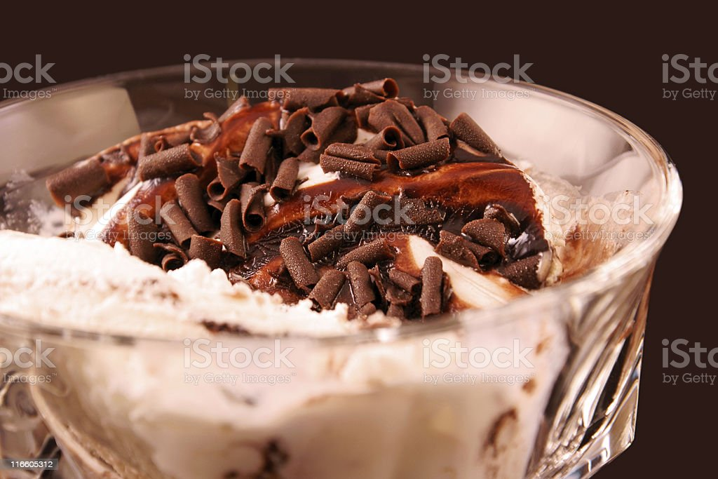 Ice cream close-up royalty-free stock photo
