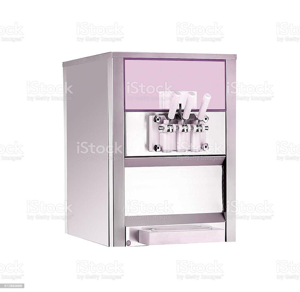 ice cream machine stock photo