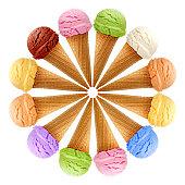 Ice cream mixture