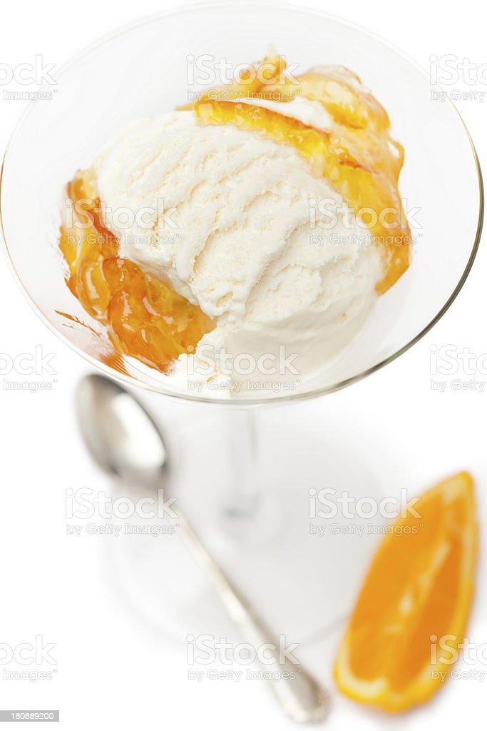 Ice sorvete foto royalty-free