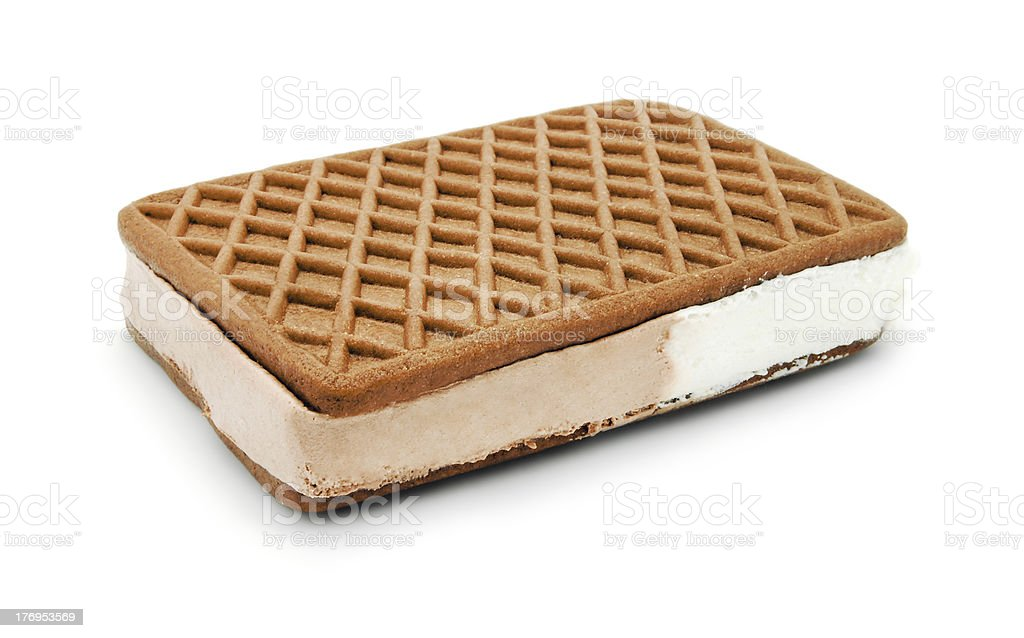 ice cream sandwich royalty-free stock photo