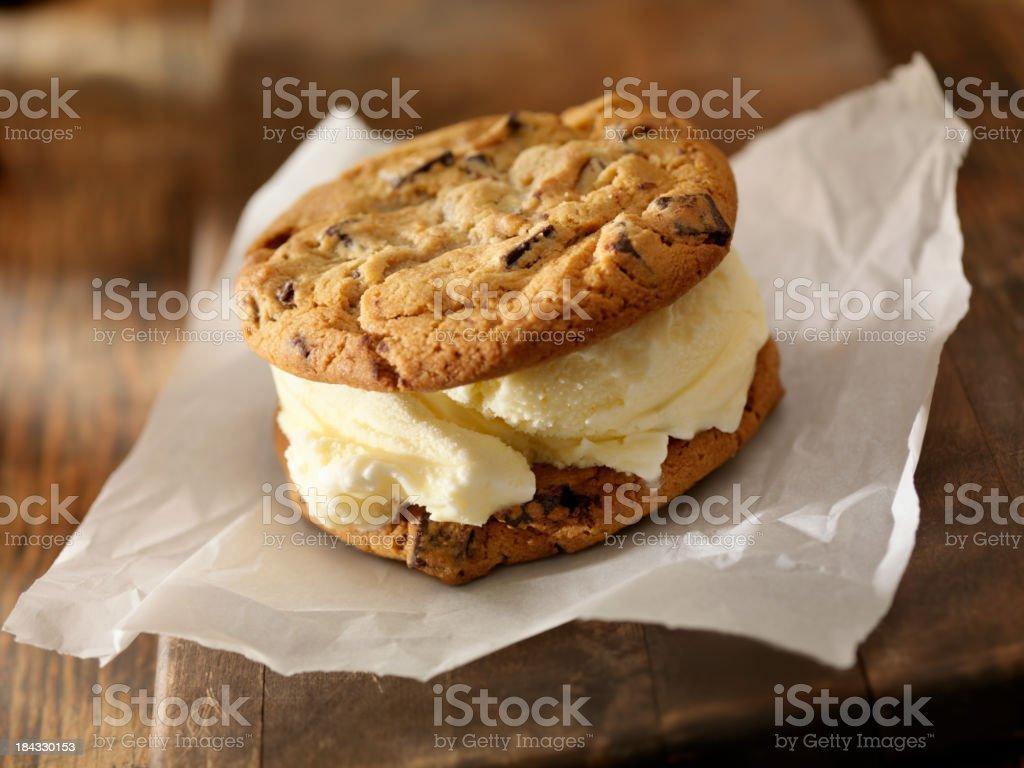Ice Cream Sandwiches stock photo