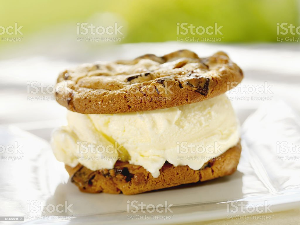 Ice Cream Sandwiches stock photo