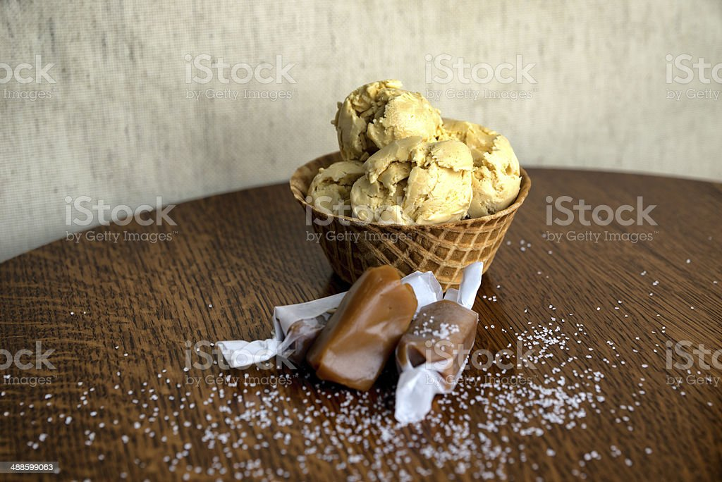 Ice Cream Sundae royalty-free stock photo