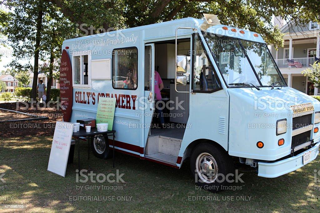 Ice Cream Truck royalty-free stock photo
