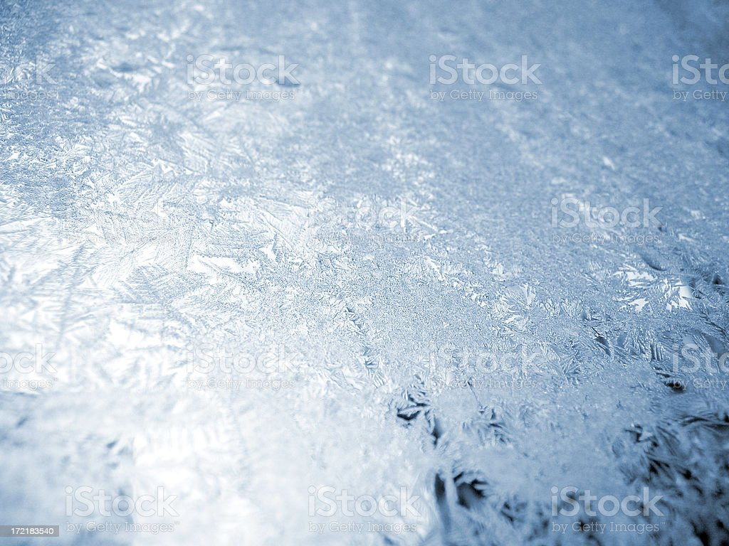 Ice crystals royalty-free stock photo