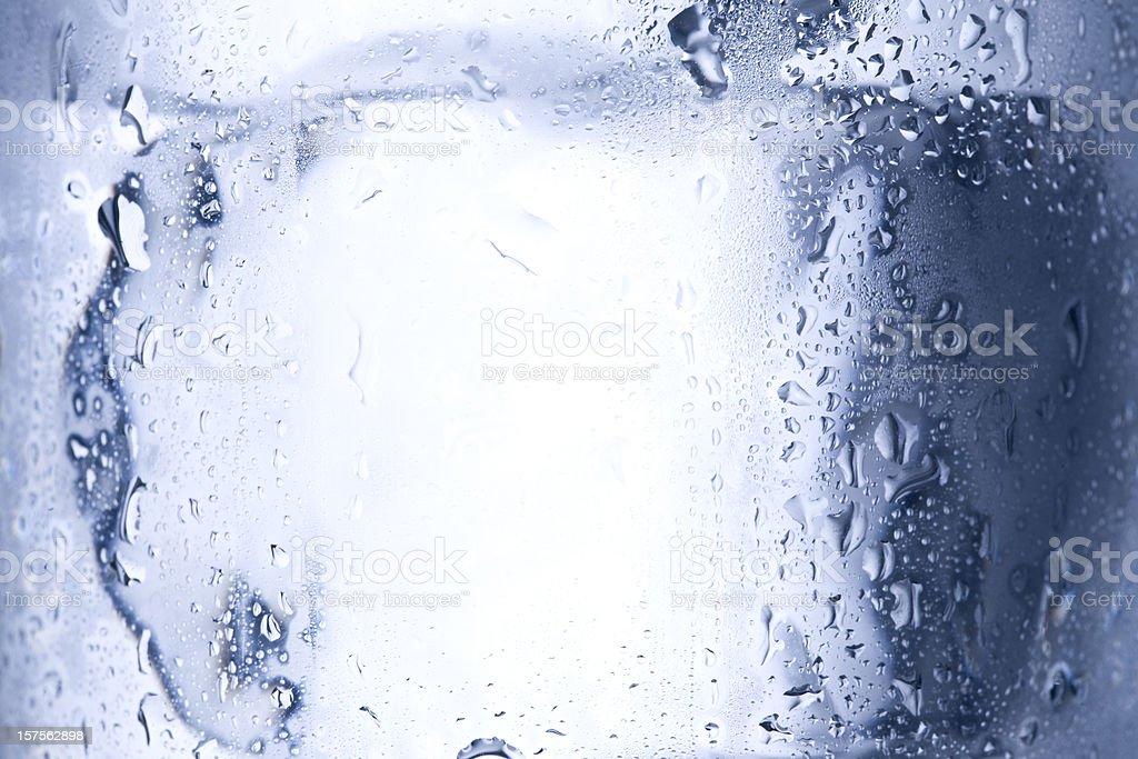 Ice cube close up royalty-free stock photo