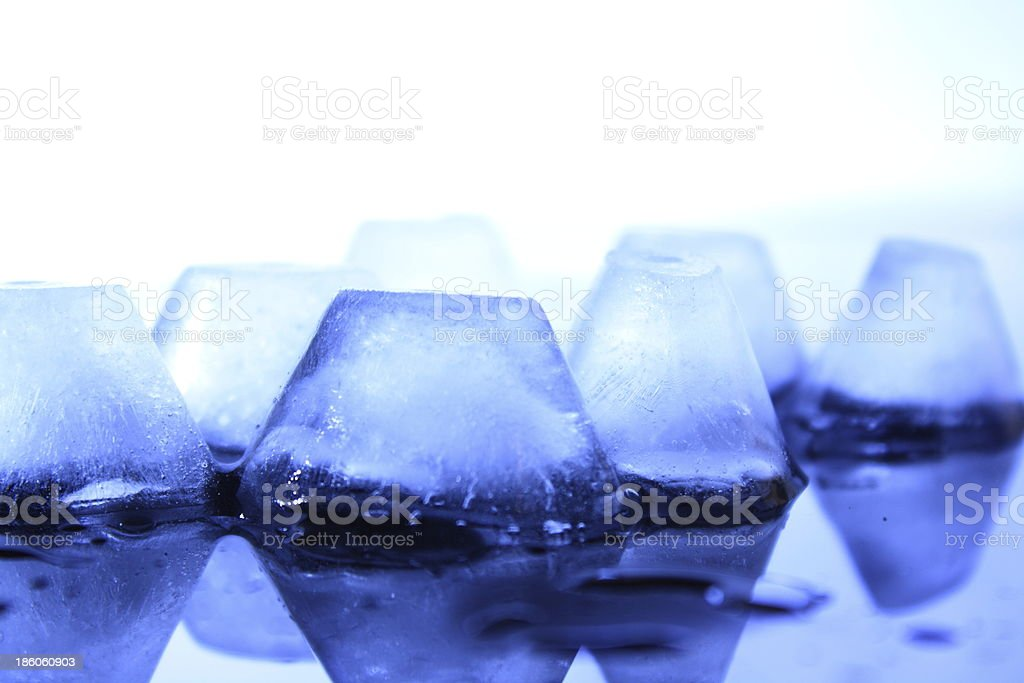 Eiswürfel stock photo