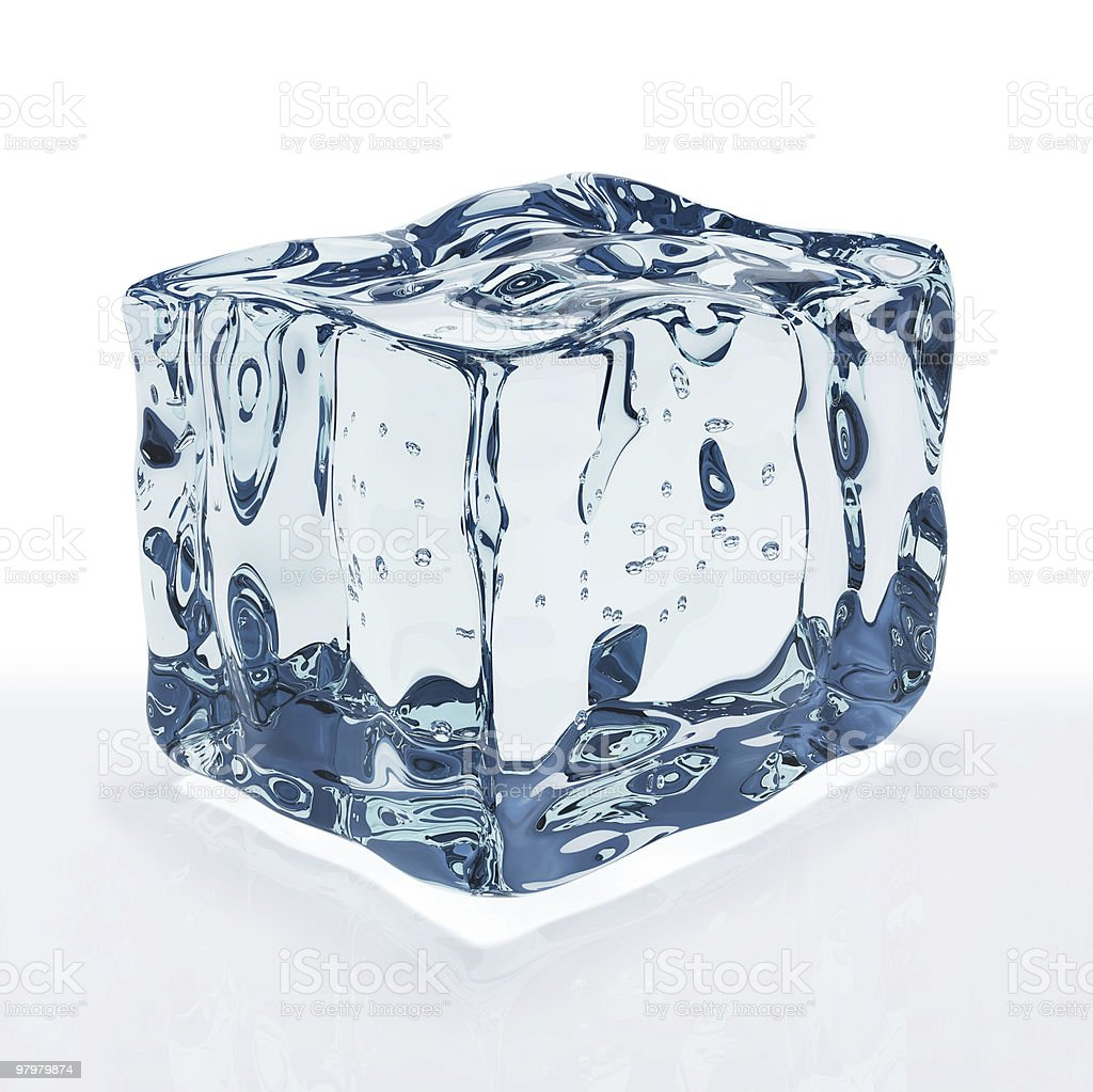 ice cube royalty-free stock photo