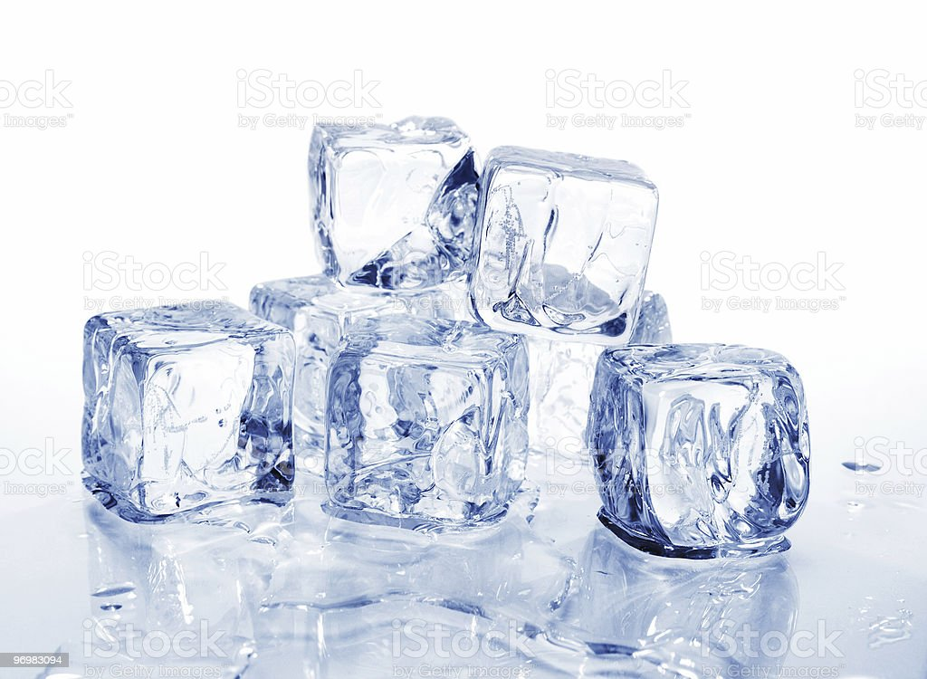 ice cubes 2 royalty-free stock photo