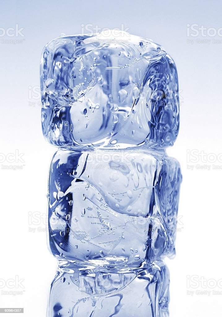 ice cubes 6 royalty-free stock photo