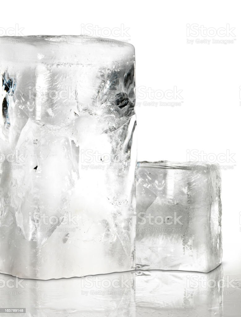 Ice Cubes (Click for more) royalty-free stock photo