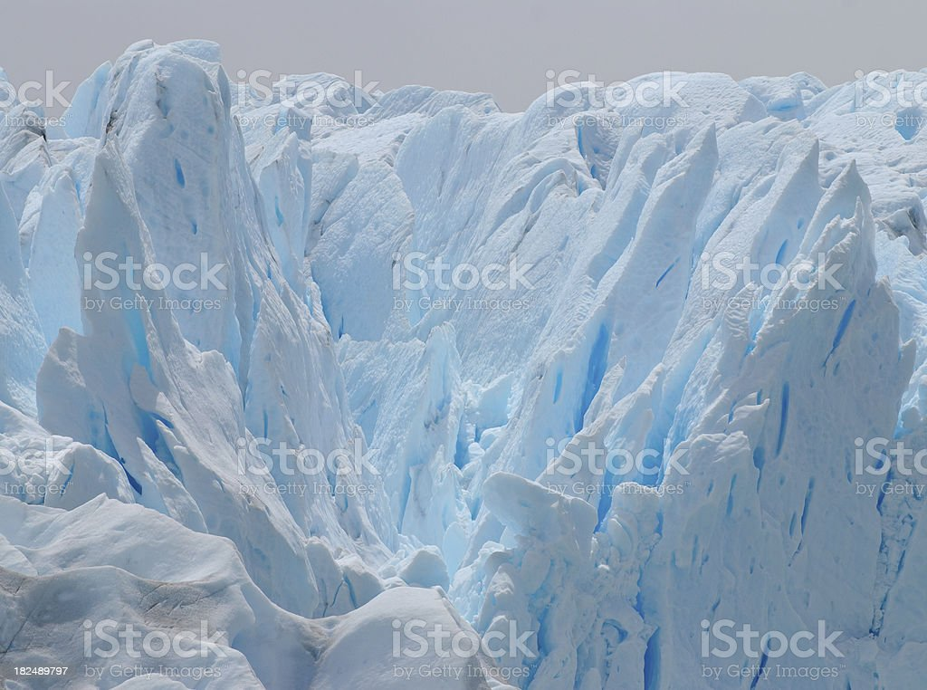 ice details (Perito Moreno Glacier) royalty-free stock photo