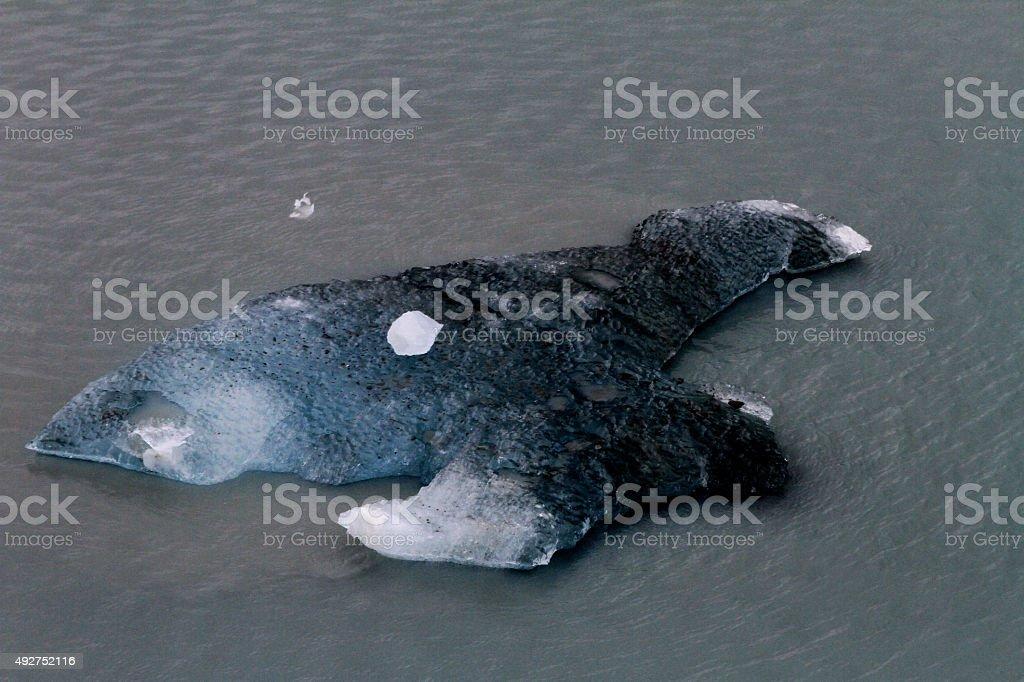 Ice encountered while Cruising Alaska stock photo