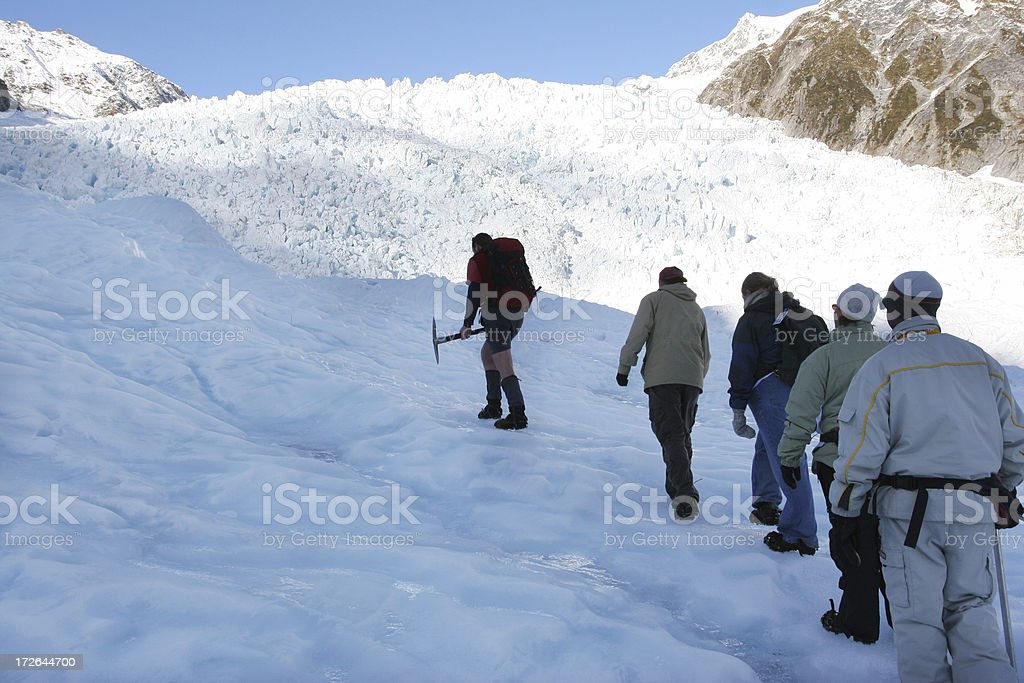 Ice expedition royalty-free stock photo